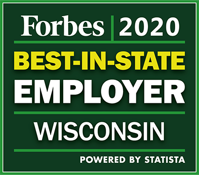 Acuity Named Best-in-State Employer by Forbes